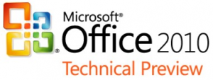 Microsoft Office 2010 Technical Preview Logo