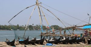 Kerala - Kochi - Fishing Nets